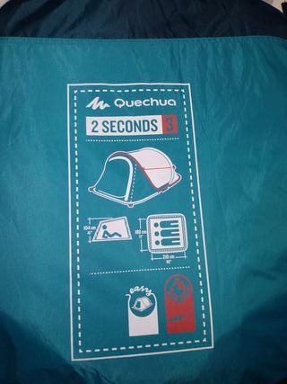 tienda de campaña 3 pers. arpenaz 2 seconds