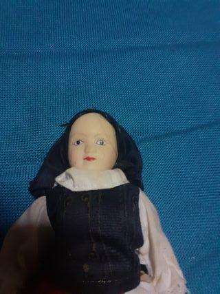 muñeca articulada de porcelana articulada VINTAGE