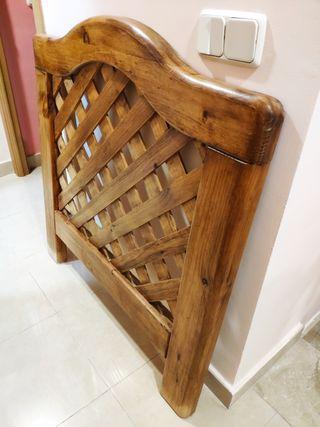 Cabecero madera maciza ¡Oportunidad!