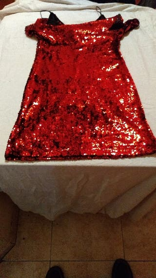 Minivestido rojo
