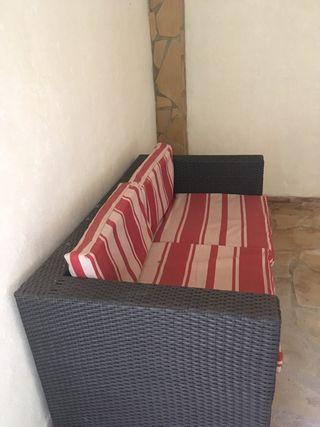Sofá de bodega o terraza