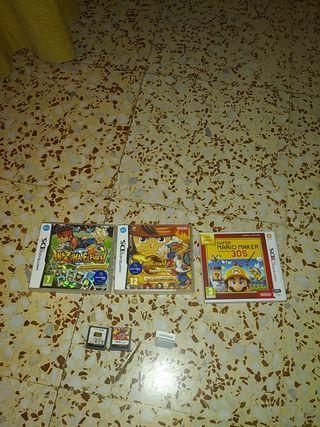 vendo juegos de la Nintendo DS y 2ds