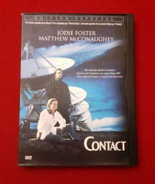 """PELÍCULA DVD """"CONTACT"""" (EDICIÓN ESPECIAL)"""