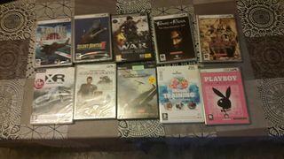 10 juegos PC varios A ESTRENAR sin desprecintar