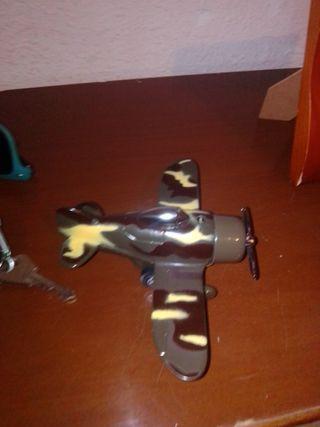 mini avión mechero