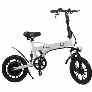 Bicicleta eléctrica plegable Nueva y garantía