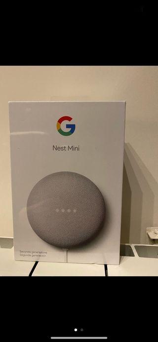 Google nest mini. Oferta!!!!!