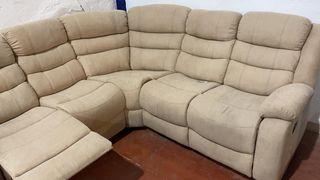 Sofá Rinconera con asientos laterales relax