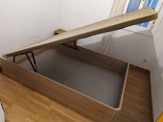 Canapé abatible + colchón 1.35 x 1.90 Nuevo