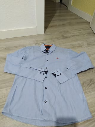 camisa vestir talla S bandera españa
