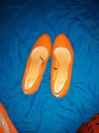 Zapatos desgaste.