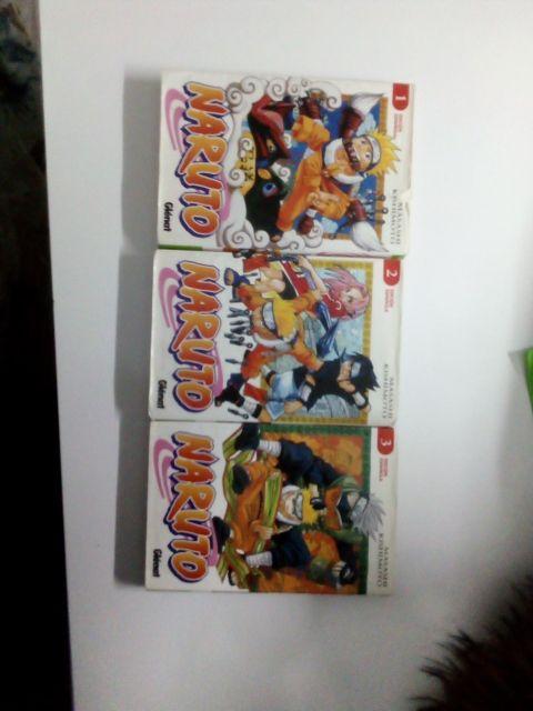 Mangas/Comics de Naruto