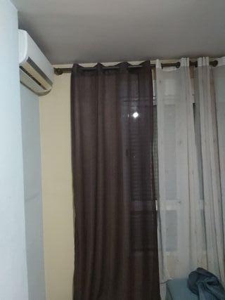 cortina de dormitorio