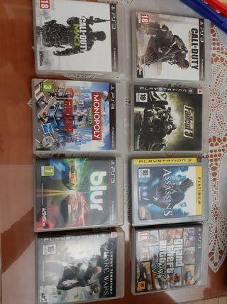 Lote juegos Play Station 3