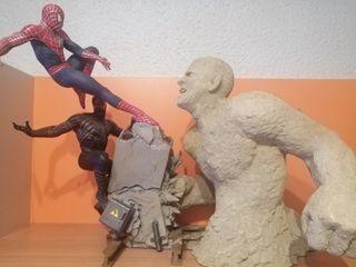 Spiderman vs sandman vs venom sideshow
