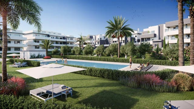 Apartamento en venta en Estepona Oeste - Valle Romano - Bahía Dorada en Estepona (Buenas Noches, Málaga)