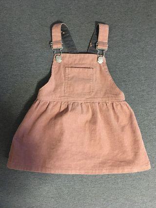 Vestido bebé niña 3-6 meses
