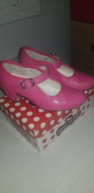 zapato flamenca n28
