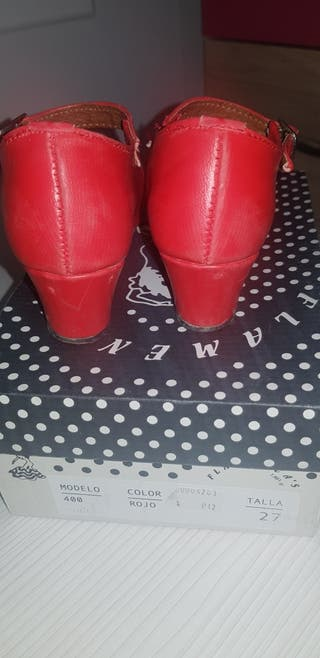 zapato flamenca n 27