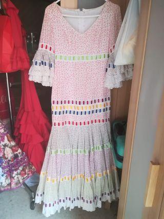 traje de Flamenca de niña 3-4 años de el Ajoli