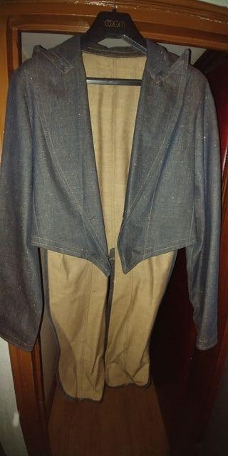 chaqueta de frac vaquera caballero