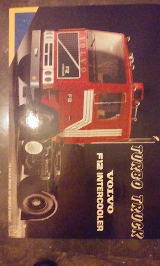 Pocher Camión Volvo f12 escala 1/8