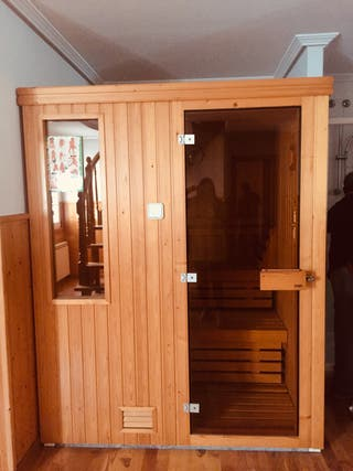 Estufa sauna de segunda mano en WALLAPOP