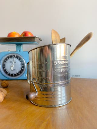 Jarra tamiz de cocina