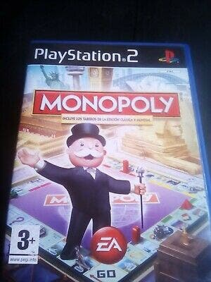 Juego PS2 Monopoly