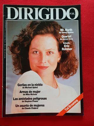 Revista Dirigido por n°166. Sigourney Weaver