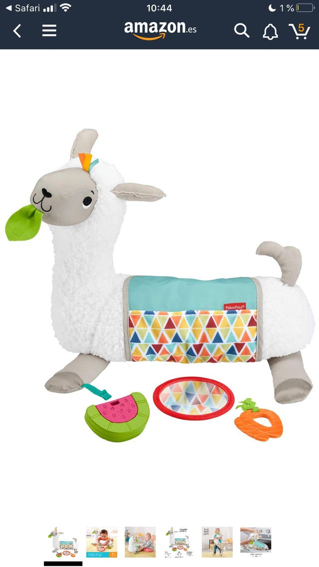 Fisher price peluche llama juguete