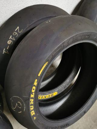 Neumáticos slick Dunlop Moto2