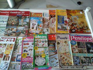 revistas de punto de cruz