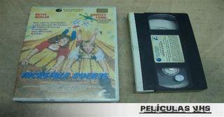 Película Increíble Suerte en VHS