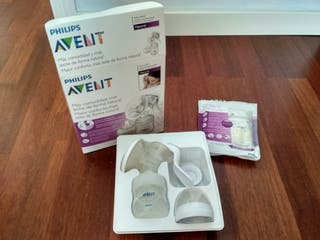 Sacaleches manual Philips Avent