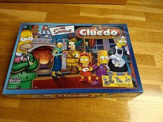 Juego de mesa Cluedo Los Simpsons