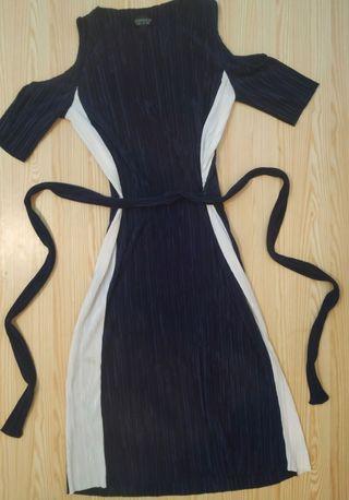 vestido midi top shop