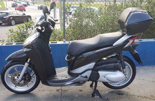 Moto Honda Scoopy Sh 300i Top Box 2012 Negra