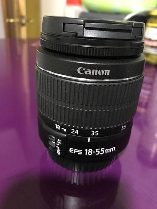 Objetivo CANON original 18-55 mm