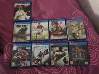 lote de videojuegos