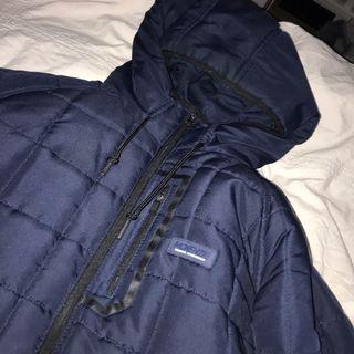 Lushhhh navy mckenzie coat x