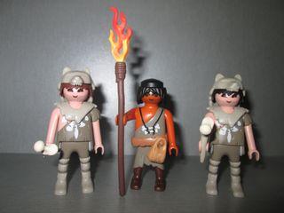 Playmobil. Cavernícolas. Prehistoria.