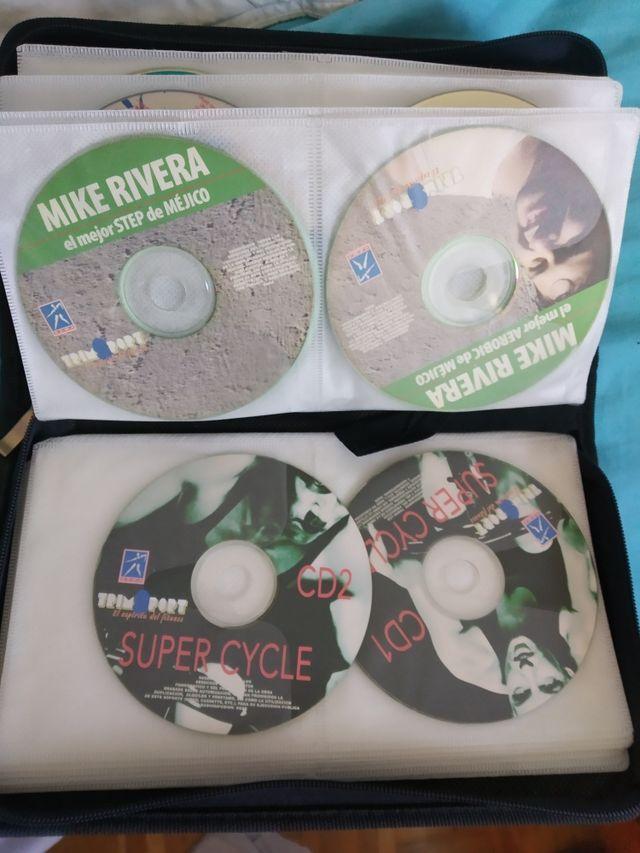 CD's música para clases de actividades dirigidas