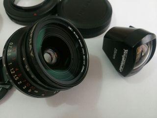 objetivo voigtlander 25 mm