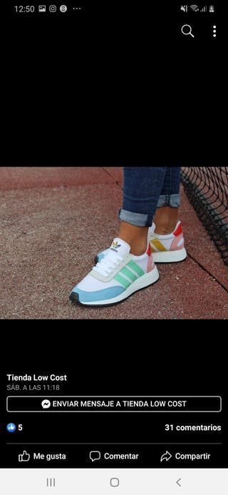 Adidas pride color mujer