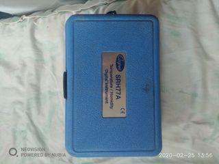 Instrumento termistor de temperatura / humedad