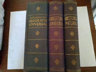 Libros de ciencias antiguos