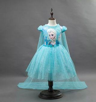 vestido niña bebé nuevo princesa disfraz 3/4 años