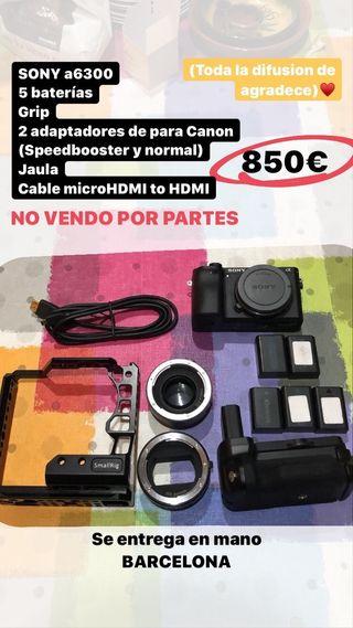 Cámara Sony a6300