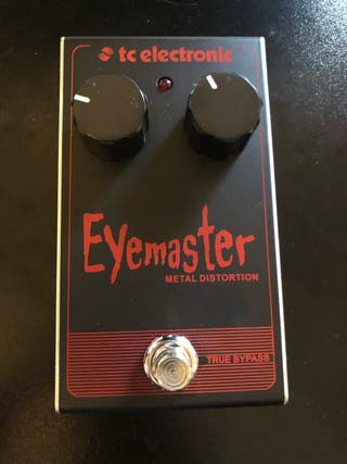 Pedal guitarra metal distorsión Eyemaster